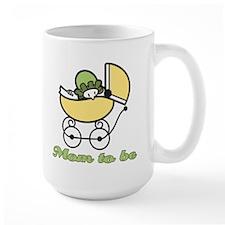 Retro Mom to Be Mug