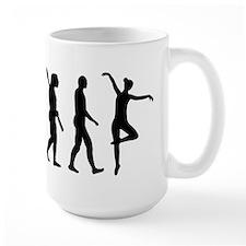 Ballet Ballerina evolution Mug