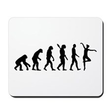 Ballet Ballerina evolution Mousepad