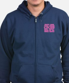 Lose your lunch - Zip Hoodie