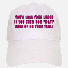 Lose your lunch - Baseball Baseball Cap