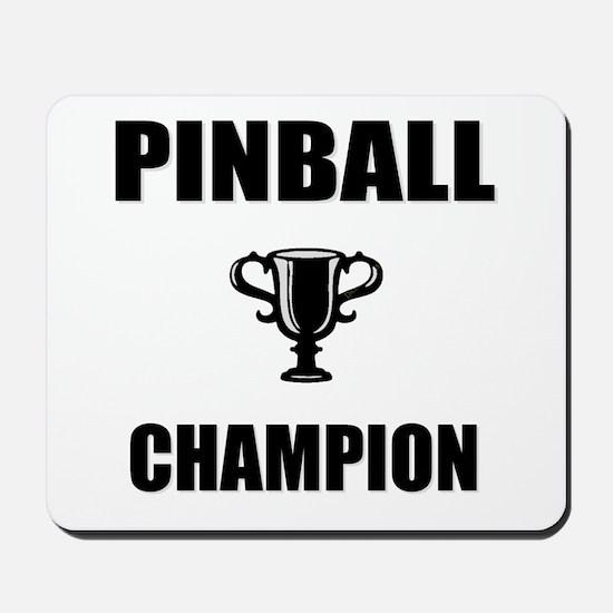 pinball champ Mousepad