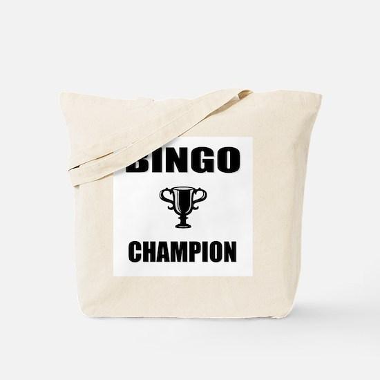 bingo champ Tote Bag