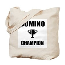 domino champ Tote Bag