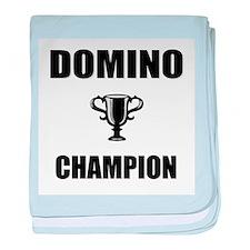domino champ baby blanket