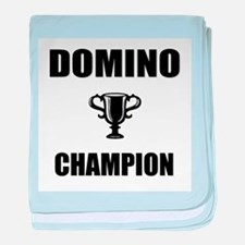 domino champ baby blanket