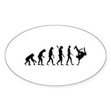 Evolution Breakdance Stickers