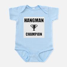 hangman champ Infant Bodysuit