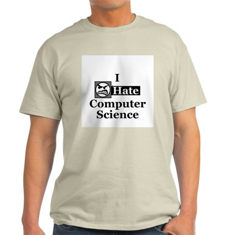 I Hate Computer Science Ash Grey T-Shirt