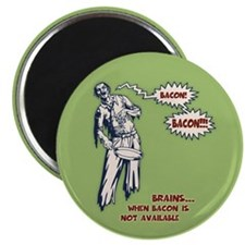 """Zombie Bacon 2.25"""" Magnet (10 pack)"""