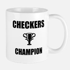 checkers champ Mug