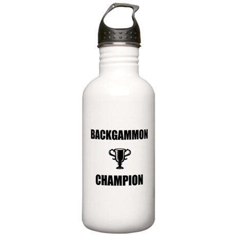 backgammon champ Stainless Water Bottle 1.0L