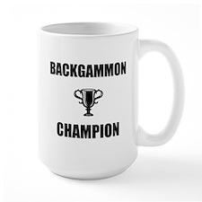 backgammon champ Mug