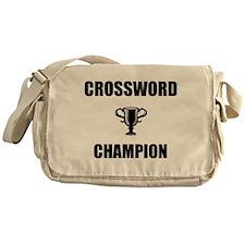 crossword champ Messenger Bag