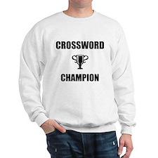 crossword champ Sweatshirt