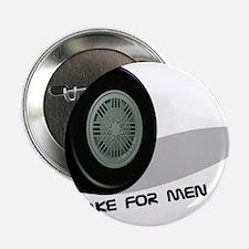 """BrakeForMen-grey 2.25"""" Button"""