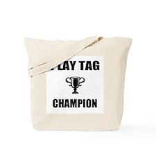 tag champ Tote Bag
