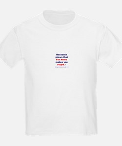 Research shows T-Shirt