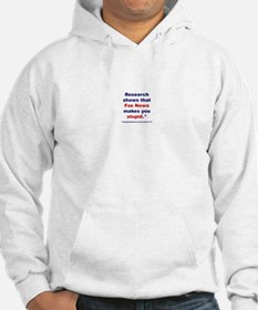 Research shows Hoodie
