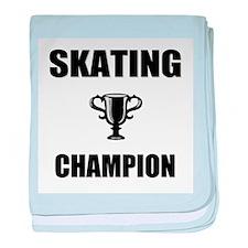 skating champ baby blanket