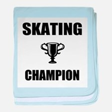 skating champ baby blanket