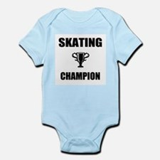 skating champ Infant Bodysuit