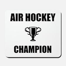 air hockey champ Mousepad
