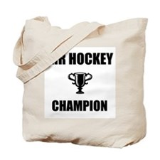 air hockey champ Tote Bag