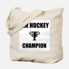 air hockey champ Tote Bag