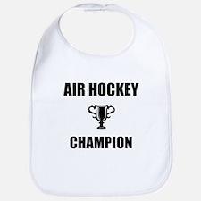air hockey champ Bib