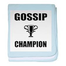 gossip champ baby blanket