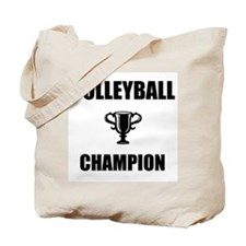 volleyball champ Tote Bag