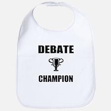debate champ Bib
