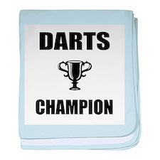 darts champ baby blanket