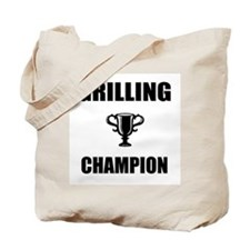 grilling champ Tote Bag
