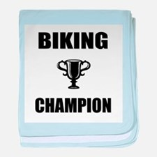 biking champ baby blanket