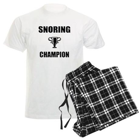 snoring champ Men's Light Pajamas