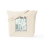Don't Frack Me! REALNYS.COM Tote Bag