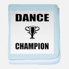 dance champ baby blanket