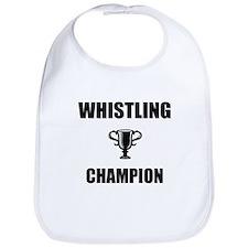 whistling champ Bib
