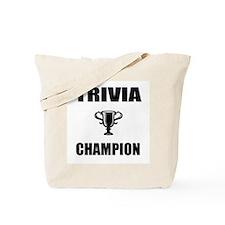 trivia champ Tote Bag
