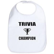 trivia champ Bib