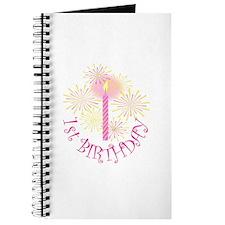 1ST GIRL BIRTHDAY Journal