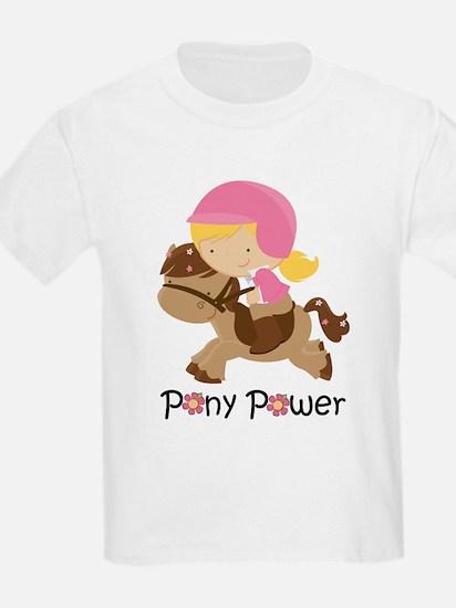 Pony Power Blond T-Shirt