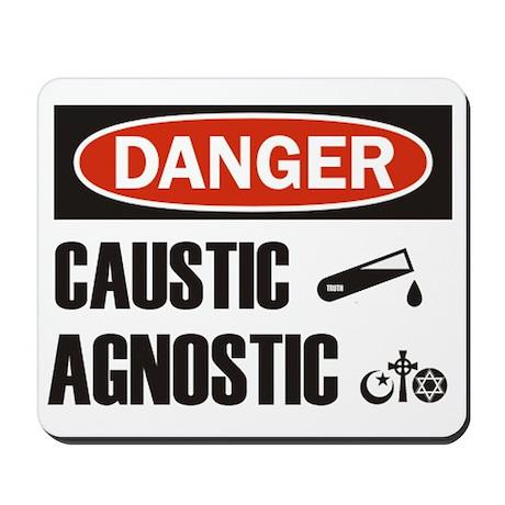Danger Caustic Agnostic Mousepad