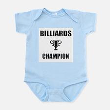 billiards champ Infant Bodysuit