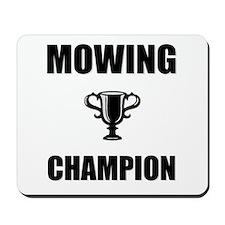 mowing champ Mousepad