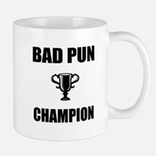 bad pun champ Mug