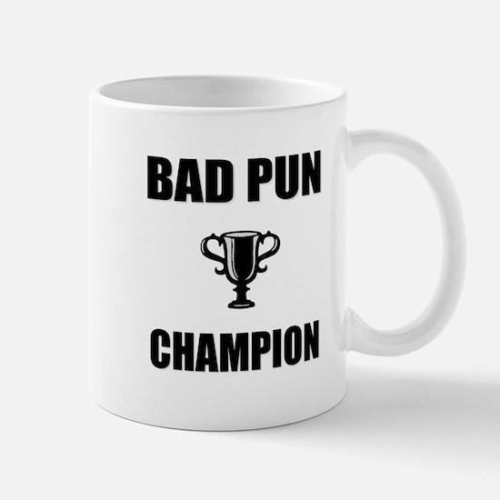 bad pun champ Mug