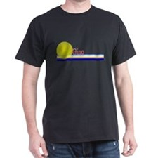 Gino Black T-Shirt